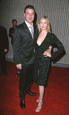 Liev Schreiber and Kelly Rutherford at the premiere for Dimension's Scream 3