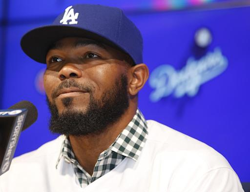 Kendrick intrigued by Dodgers' offseason overhaul