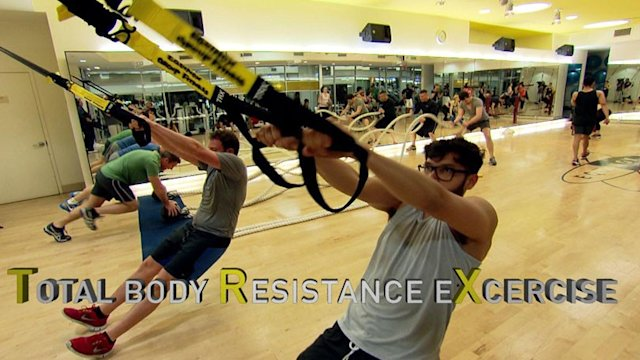 'TRX' Suspension Workout Uses Military, Pro Sports Exercise Techniques