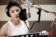 Kim Junsu records OST of 'Innocent Man'