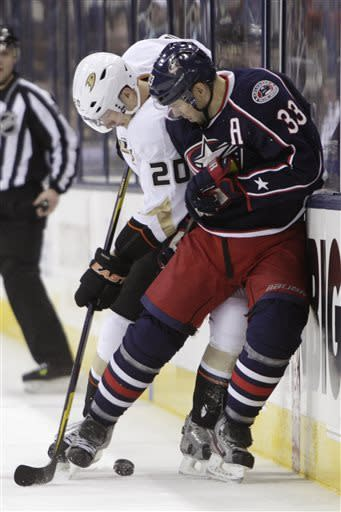 Letestu's OT goal lifts Columbus past Anaheim 2-1