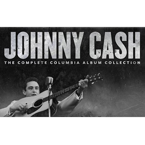 This cover image released by Columbia/Legacy shows a box set for &quot;Johnny Cash, The Complete Columbia Album Collection.&quot; (AP Photo/Columbia/Legacy)