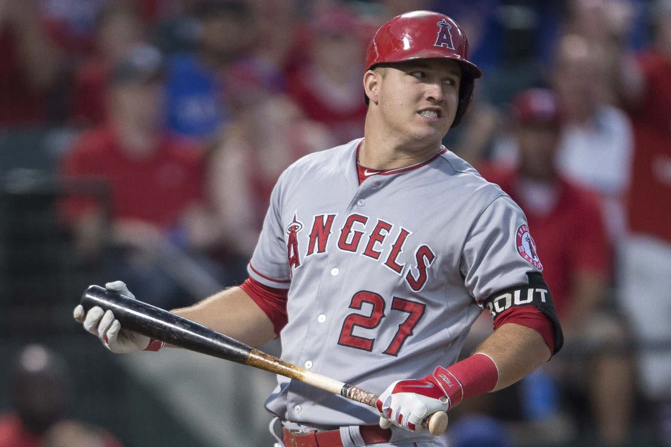 The Angels will never, ever, ever, ever, ever trade Mike Trout