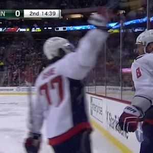 Ovechkin's second goal of game