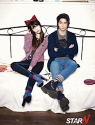 IU & Yoo Seung Ho reveal a new pictorial