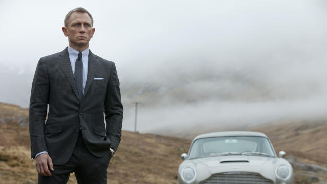 Bond soars with record $87.8M 'Skyfall' debut