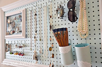 White Pegboard