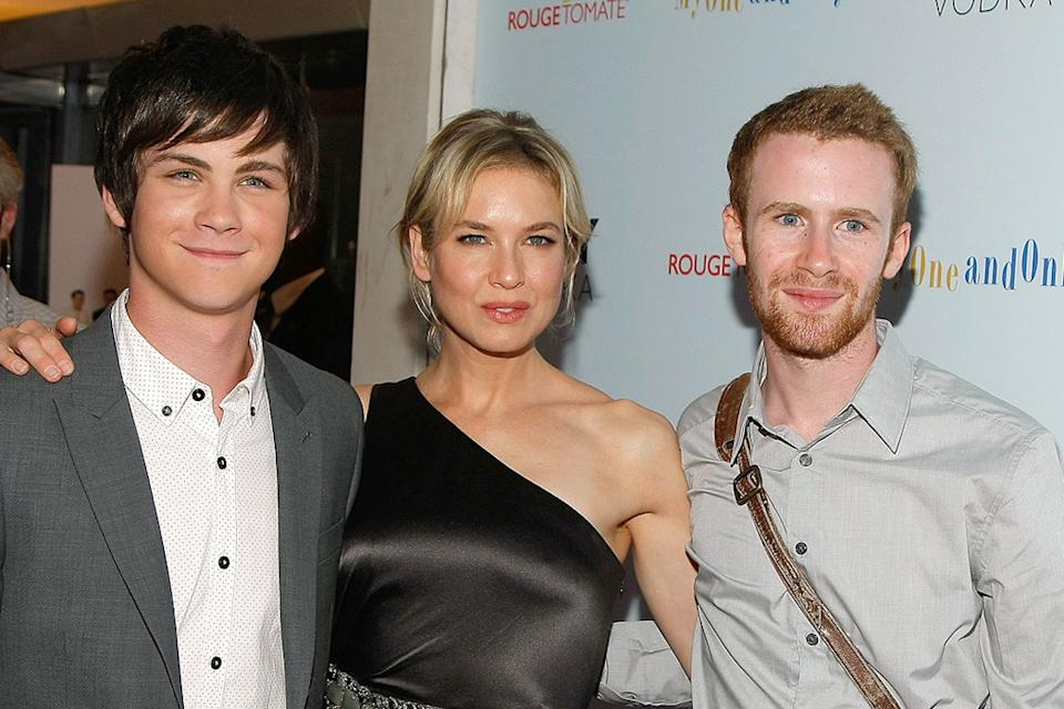 My One and Only NY Premiere 2009 Logan Lerman Renee Zellweger Mark Rendall