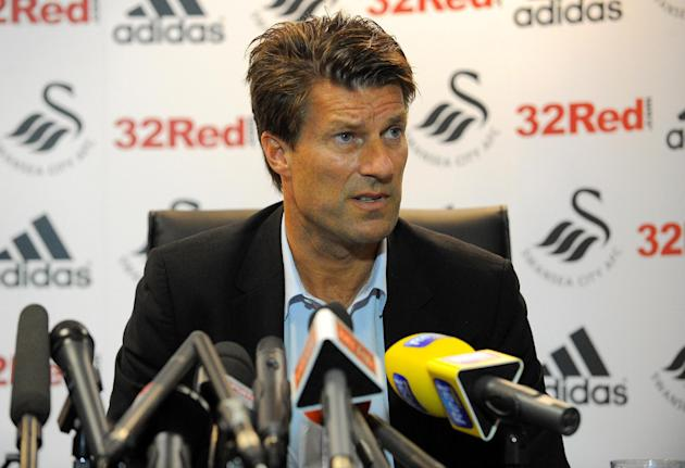 Michael Laudrup has been happy with Swansea's progress