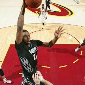Andrew Wiggins Scores 27-Points Against Cavs