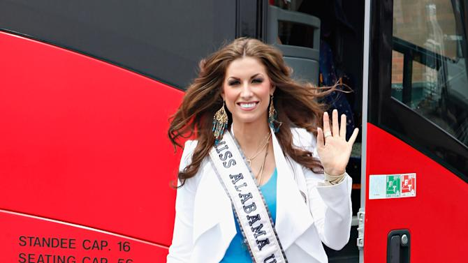 2012 Miss USA Contestants Visit New York City
