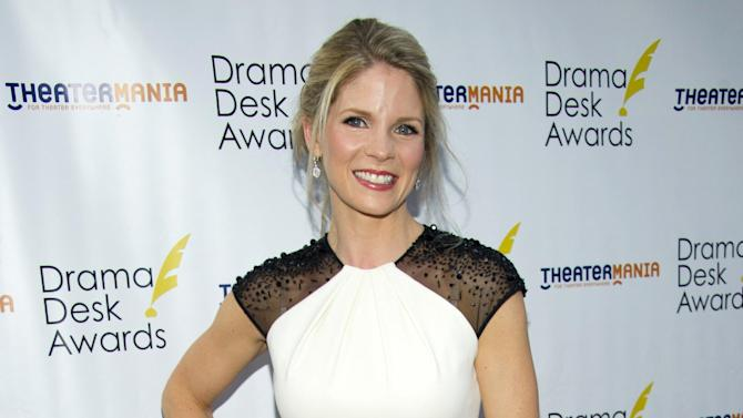 "FILE - In this June 3, 2012 file photo, actress Kelli O'Hara appears at the 57th Annual Drama Desk Awards in New York. Producers said Wednesday, June 26, that O'Hara will star opposite Steven Pasquale in the Broadway-bound musical ""The Bridges of Madison County."" The show, with songs by Jason Robert Brown and a book by Marsha Norman, will debut at the Williamstown Theatre Festival in Massachusetts this August and then land at the Gerald Schoenfeld Theater in January. Previews begin Jan. 13. (Photo by Charles Sykes/Invision/AP, file)"