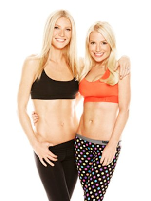 Gwyneth Paltrow and Tracy Anderson