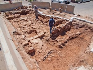 Ancient Roman Road Exposed in Jerusalem