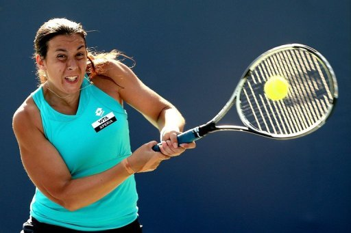 Marion Bartoli lost only seven points on her serve in the second set
