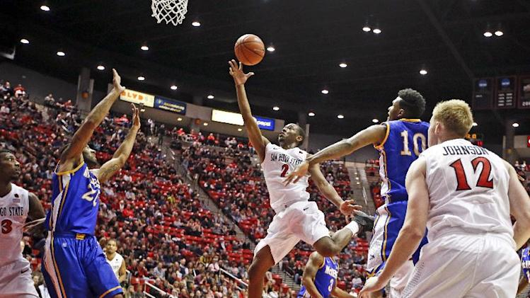 No. 21 San Diego State beats Colorado State 71-61