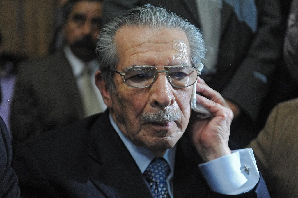 Former Guatemala dictator's amnesty appeal denied