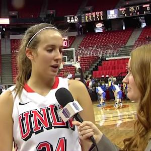 The Mountain West Network chats with UNLV Junior Forward Alana Cesarz