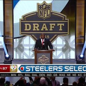 Pittsburgh Steelers pick wide receiver Sammie Coates No. 87 in the 2015 NFL Draft