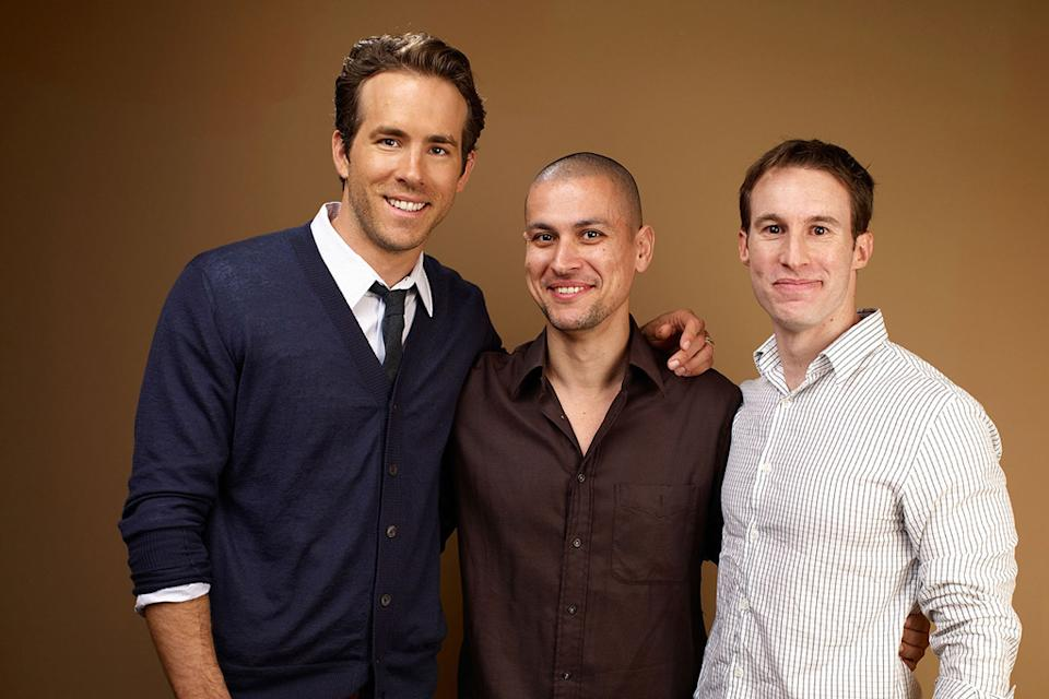 2010 Toronto Film Festival Portraits Ryan Reynolds Rodrigo Cortes Chris Sparling