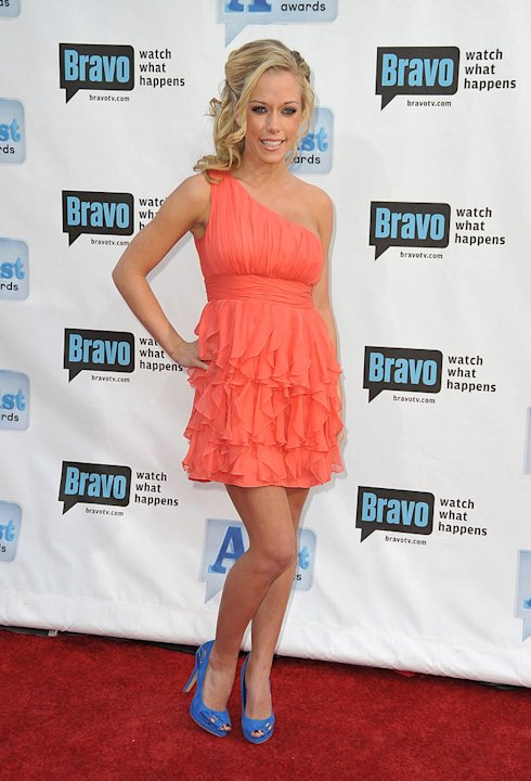 Kendra Wilkinson arrives at Bravo's 2nd Annual A-List Awards at The Orpheum Theatre on April 5, 2009