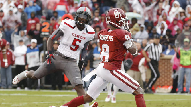 Bell provides offensive boost for No. 13 Sooners
