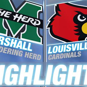 Marshall vs Louisville | 2014-15 ACC Basketball Highlights