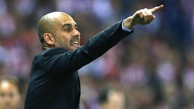 Guardiola vs Athletic.EFE