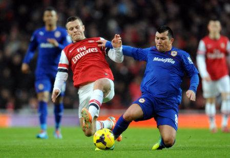 Soccer - Barclays Premier League - Arsenal v Cardiff City - Emirates Stadium