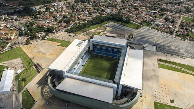 Brazil to stage key stadium tests for World Cup