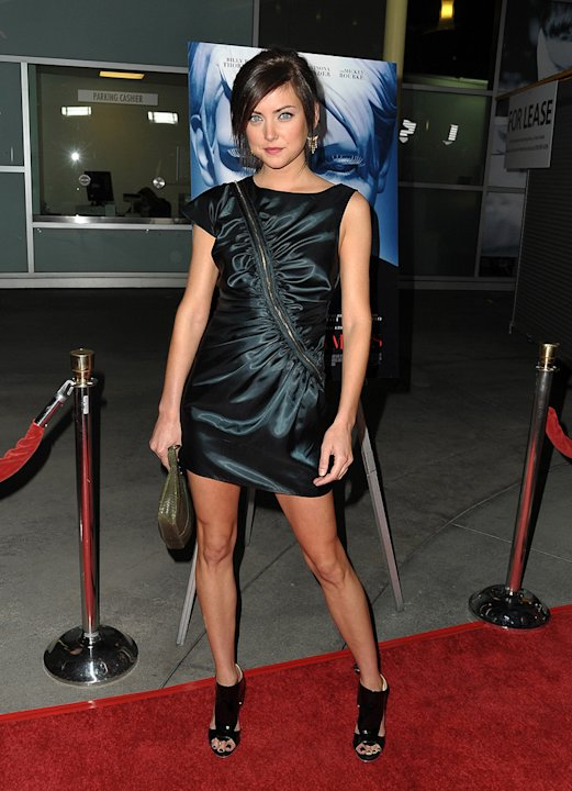 The Informers Premiere LA 2009 Jessica Stroup