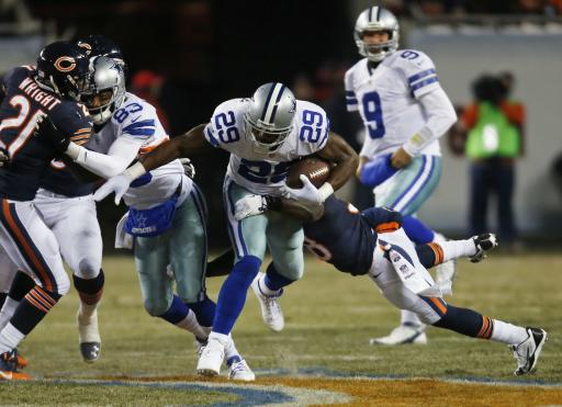 Cowboys, Bears tied at 7 after 1st quarter