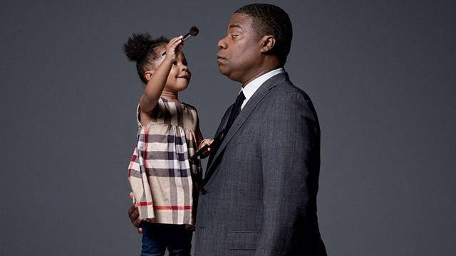 Tracy Morgan's Adorable Daughter Does His Makeup in 'GQ' Photoshoot