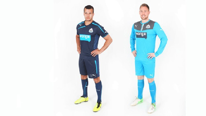 newcastle away kit