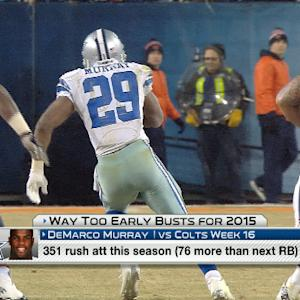 'NFL Fantasy Live':  Way too early busts for 2015