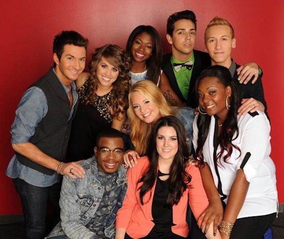 The 'American Idol' Season 12 Top 9 -- FOX