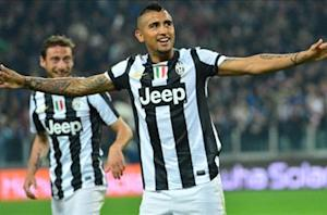 Vidal wants Juventus to finish in a flurry