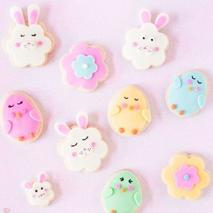 Chicka-Chicka, Bun-Bunny Cookies