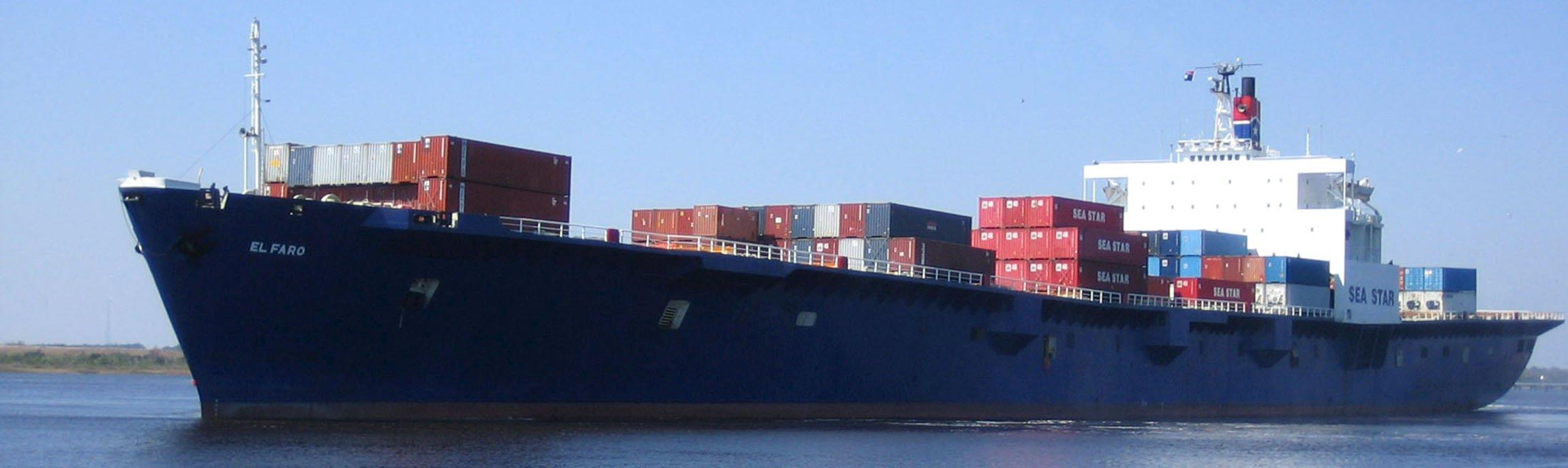 El Faro, missing cargo ship, sank during Hurricane Joaquin