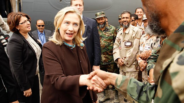 Hillary Clinton Visits Libya to Meet Rebel Leaders (ABC News)