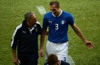 Chiellini ruled out of Brazil game
