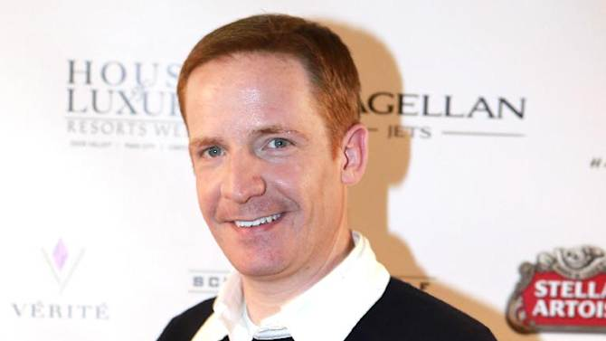 """IMAGE DISTRIBUTED FOR RAND LUXURY - Marc Evan Jackson from the film """"Toy's House"""" is seen at Resorts West House of Luxury, on Monday, Jan. 21, 2013 in Deer Valley, Utah. (Photo by Benjamin Cohen/Invision for Rand Luxury/AP Images)"""