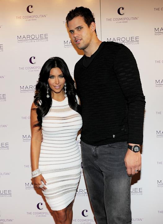 Kim & Kris: shortest marriage ever? Not by Hollywood's standards.