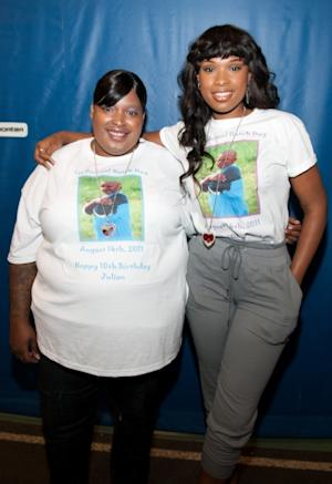 Julia Hudson and Jennifer Hudson attend the 1st annual Julian D. King Gift Foundation Hatch Day celebration at De La Salle Institute, Chicago, on August 14, 2011  -- Getty Images