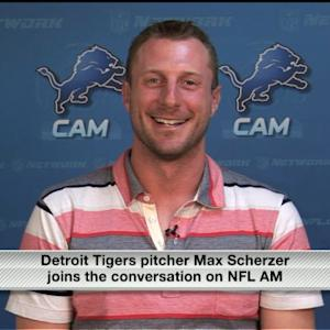 Max Scherzer joins 'NFL AM'