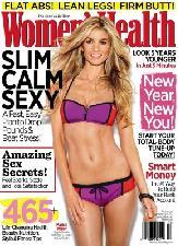 Marisa Miller on cover of Women's Health (Jan/Feb 2012) -- Women's Health
