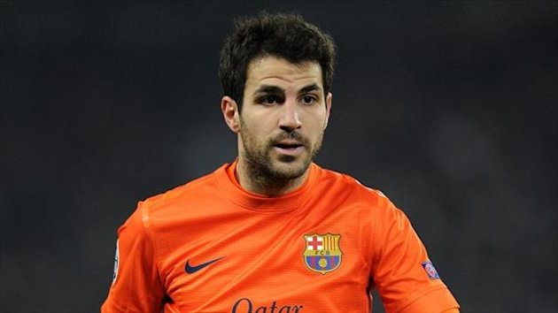 Manchester United have made two bids for Cesc Fabregas