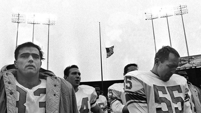 Column: A nation grieves and the NFL plays on