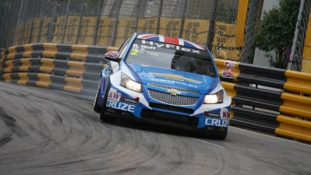 Rob Huff of Chevrolet in Macau (WTCC)