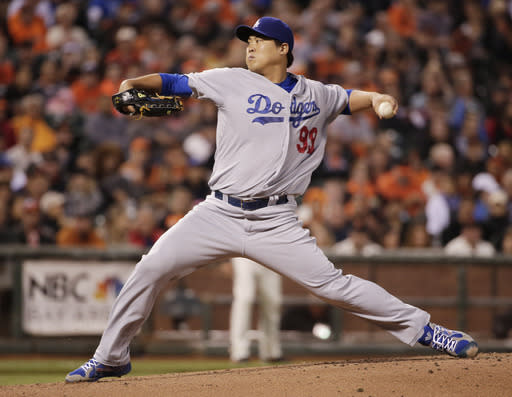 Dodgers LHP Ryu looks to begin throwing program